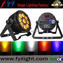12x15W RGBWAUV IP65 DMX LED Par/LED Par 64/LED Par Light