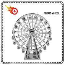 Ferris Wheel design 3D Metal Puzzle; DIY Puzzle Model Gift