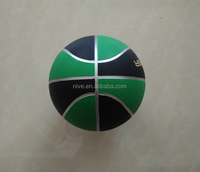 promotional rubber size 3 basketball