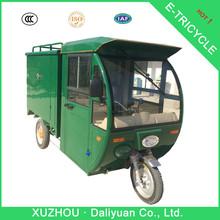 three wheel electric motor bike mini car for carry cargos