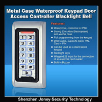 Standalone RFID Door Access Keypad RFID access control with IP68 waterproof (CE FCC Rohs)