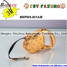 BMPMS-801A/B NINGBO BABYMATE 3M Nylon Retractable Dog Strap Leash Wholesale
