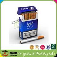 Fashion Design Cardboard Paper Disposable Cigarette Box