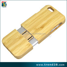 2015 real bamboo cell phone case for iphone 6