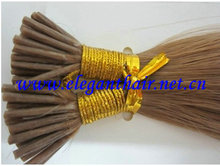 Wholesale price Grade 100% human hair 5A light brown color pro-bonded human hair extension