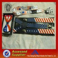 new product high quality cheap custom elastic funny country flag lanyard for sell