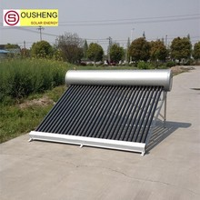 Compact pressurized solar water heater China solar panels