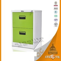 Wholesale Direct Price KD Undertable Small Metal Office Drawer Filing Cabinet / Lockable Steel Prefab Drawers