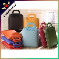 "Top quuality leather laptop bag,12"" laptop bag,top open laptop bag"