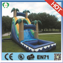 HI Amazing hot jumping castles inflatable water slide,inflatable slip and slide,big water slide inflatable