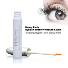 Happy Paris Eyelash growth liquid/2015 natural eyelash growth treatment