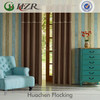 Jacquard Stripe Style 3 Pass Blackout Coated Drapery Fabric for Hotel