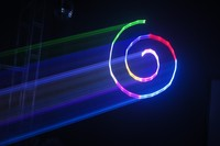 1W mini power laser show stage lighting rgb full color animation laser light for Lamps and lanterns wedding laser stage radium