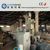 haoyang pipe extrusion for gas in polyethylene