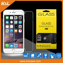 mobile phone for iphone6 plus tempered glass screen protector, screen protective glass, for iphone6 temper glass