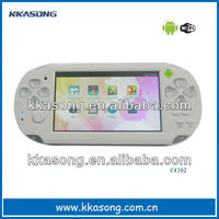 """Hot selling 4.3"""" android4.0 game player"""