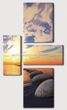 Sea landscape oil paintings,inkjet printing canvas,printing stretched canvas