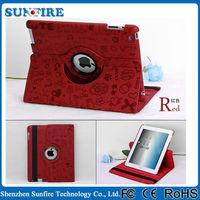 Cheap Tablet Accessories 360 Rotate Cover For Ipad Mini Case Multicoloured