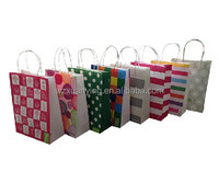 Apparel and Food Shop Use Cheap Kraft Paper Packing Bag