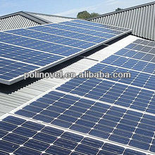 solar modules mount system for Tin Roofs