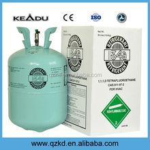 Cylindre emballé gaz refrigerante r134a