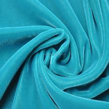 90% polyester 10% spandex soft velvet