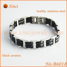 Sports balance health luxury fashion men's bracelet ceramic beads bracelet