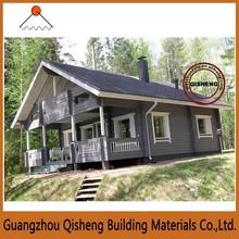 Guangzhou prefabricated simple villa house light steel villa