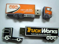 truck shaped usb flash drive for little gift