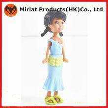 Plástico personalizada juguetes vivos girls figuran