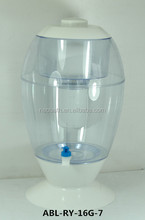 Korea new style Mineral Water filter 16L desk top mineral pot water system ABL-RY-16G-7
