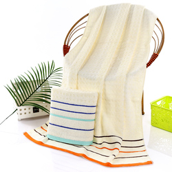 Wholesale luxury bathroom towel of 100 percent cotton for drying