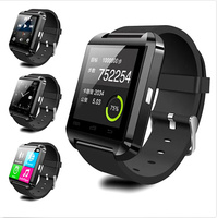 u8 smart watch phone with touch display and camera remoter