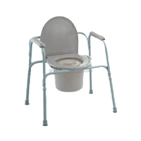 plastic commode chair