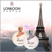paris lover OEM/ODM latest branded perfumes for woman