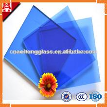 4mm 5mm 6mm azul polarizado vidrio para las ventanas