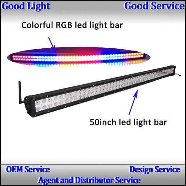 Multi color led light bars