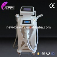 Home use 3in1 beauty clinic laser IPL RF wrinkle removal acne removal machine