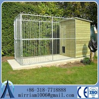 rolling fence pet cages fancy dog kennel(Anping Baochuan)