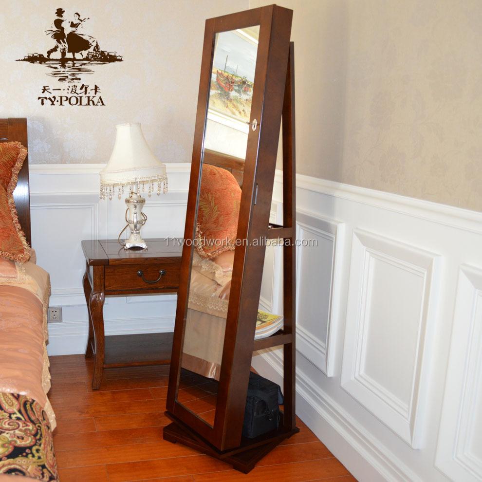 Specchio girevole armadio gioielli armoire gioielli dalla cina con ...