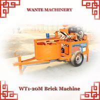 WANTE MACHINERY WT1-20/WT1-20M interlocking compressed earth brick block making machine price