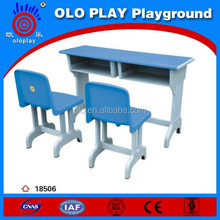 Plastic steel,Children Double Backrest desk and chairs