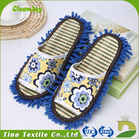 Without Leaving Marks Woman Indoor Slipper Latest Product Kitchen Chenille Cleaning Slippers