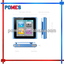 wholesale 1pc/lot touch screen 16GB 6th clip mp4 1.5 inch With FM Radio Video Music mp4 mp3 player