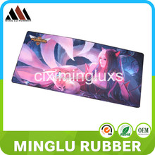 The hot sell soft rubber mouse mat in western countries