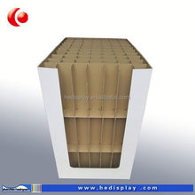 Corrugated clear small bulb packaging box made of cardboard