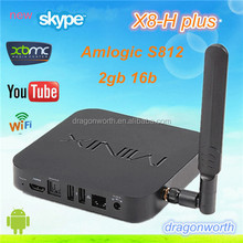 Good News!! Quad Core Neo Minix X8-H Plus Amlogic S812 Xbmc ,Skype, Facebook , Youtube,Amlogic S812 2Ghz Neo X8-H Plus Tv Box
