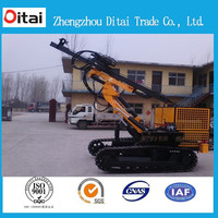 China supplier 20m 30m 35m engineering Diesel Crawler mining drilling machine,rock drilling machine,mining core drilling rig
