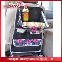 Auto back seat adjustable useful storaging bag /car organizer