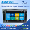 ZESTECH high quality car gps multimedia system for Opel Astra dvd player for car With GPS, Bluetooth, fm radio, SWC